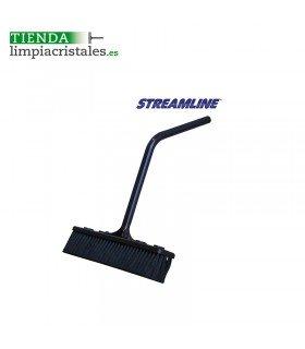 Streamline cepillo 26cm con codo acodado