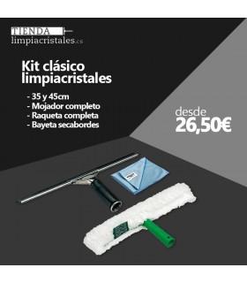 Kit Clásico Limpiacristales