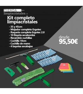 Kit completo limpiacristales UNGER