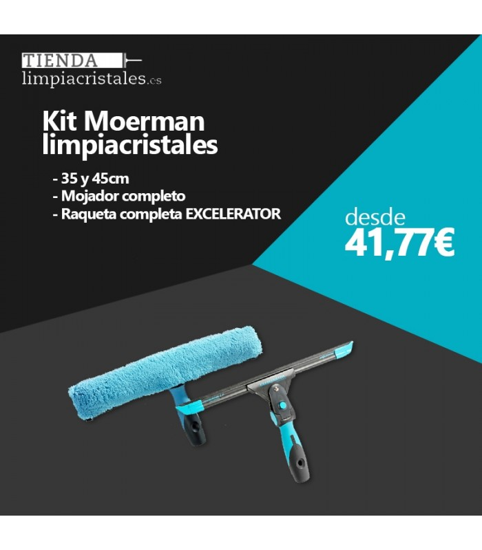Moerman kit limpiacristales