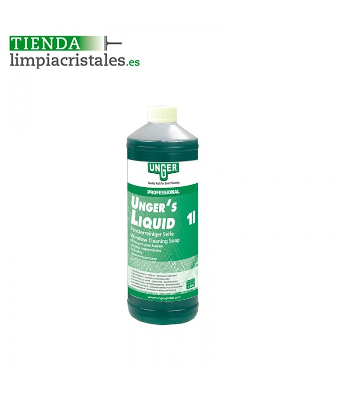 Jabón cristalero Líquido 1 litro
